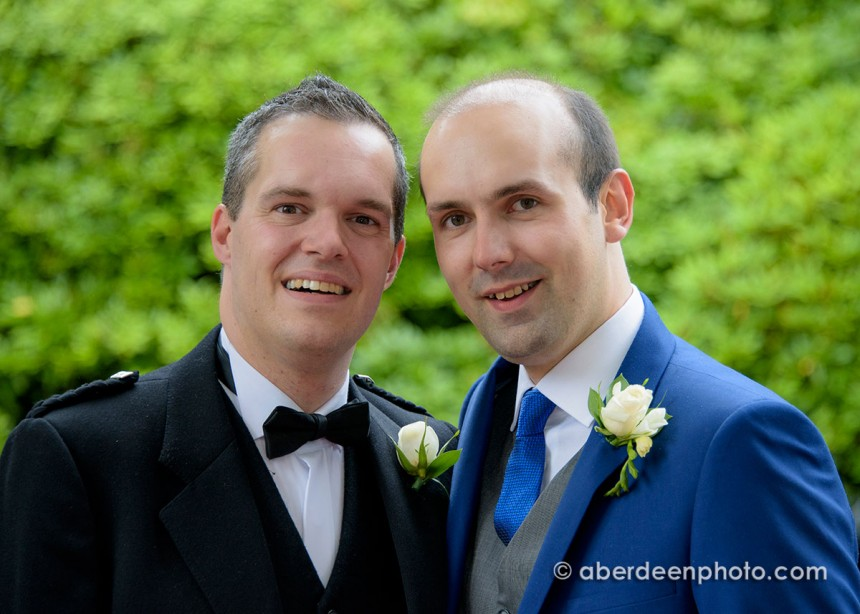 August 15th – John and Stefan at Ardoe House Hotel