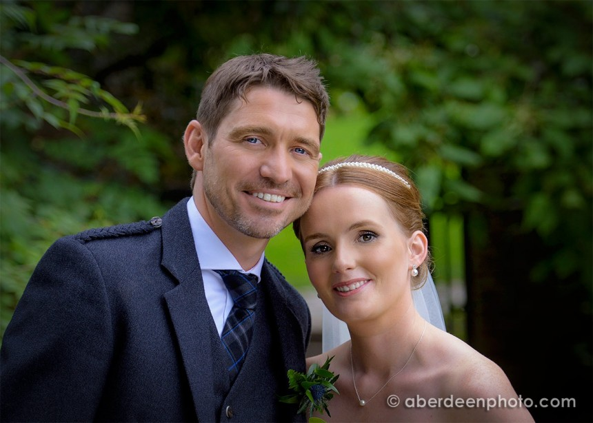 August 22nd – Donna and Rodi at St. Machars Cathedral