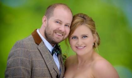 September 12th – Deborah and Ian at Wedderhill Farm