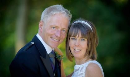 October 2nd – Angela and James at Norwood Hall