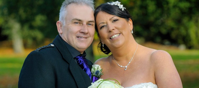 October 3rd – Tracy and Les at Marriott Hotel