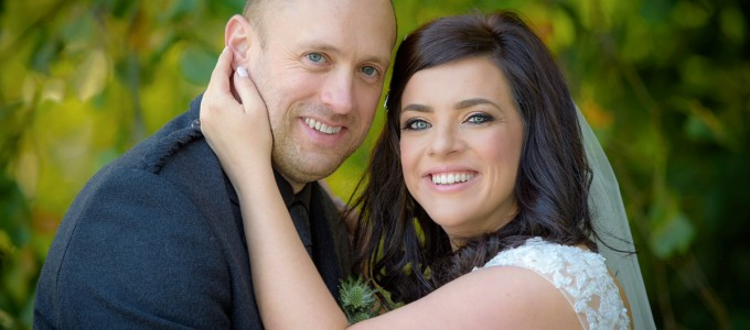 October 9th – Julie and Gary at Meldrum House Hotel