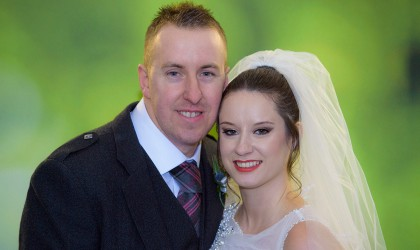 November 22nd – Paula and David at Ardoe House hotel