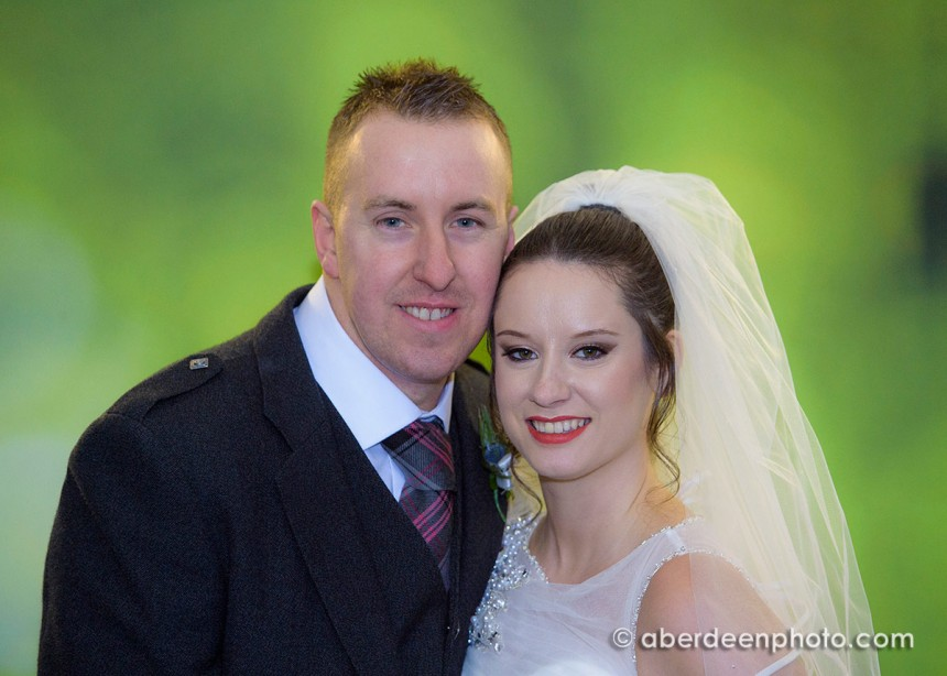November 22nd – Paula and David at Ardoe House hotel