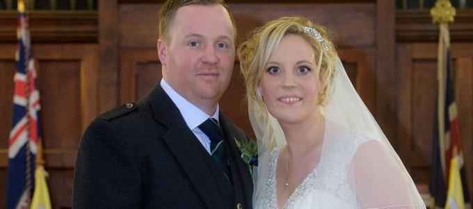 December 29th – Sarah and Kenneth at Cruden Parish Church