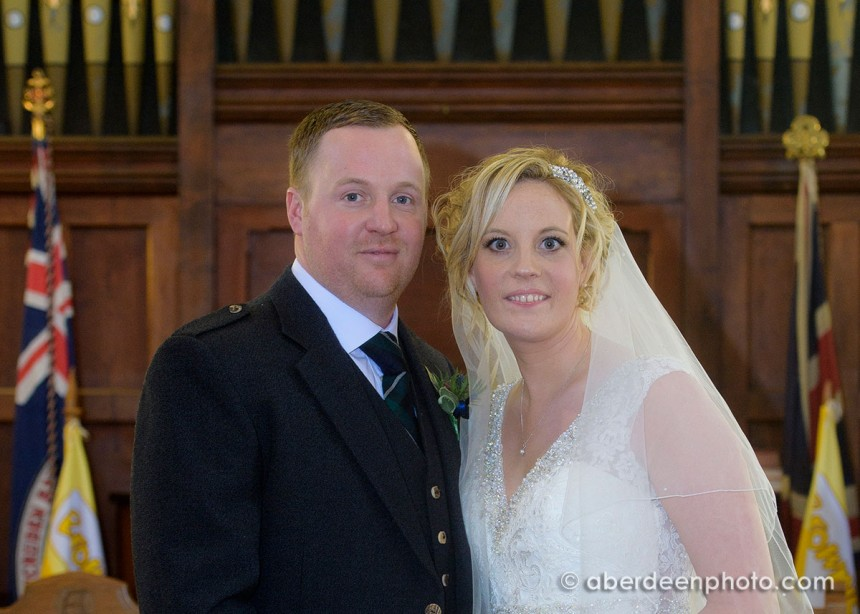 December 29th – Sarah and Kenneth at Cruden Parish Church