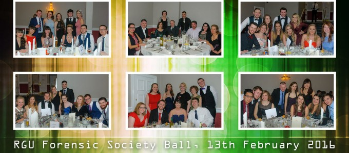 February 13th – RGU Forensic Society Ball