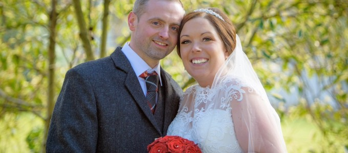 February 27th – Lorri and Martin at Banchory Lodge Hotel