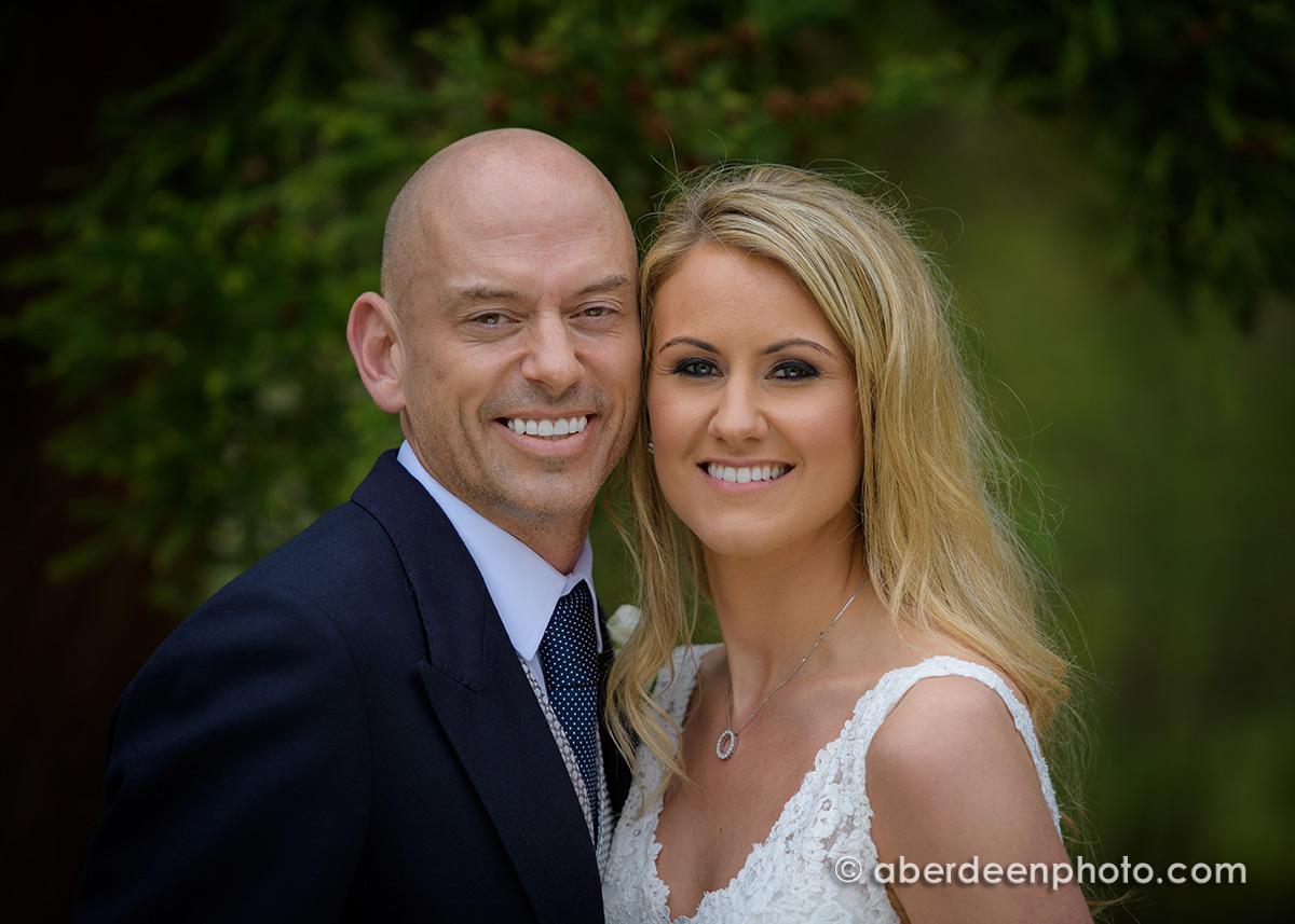 May 7th – Claire and Kevin at Craigiebuckler Church
