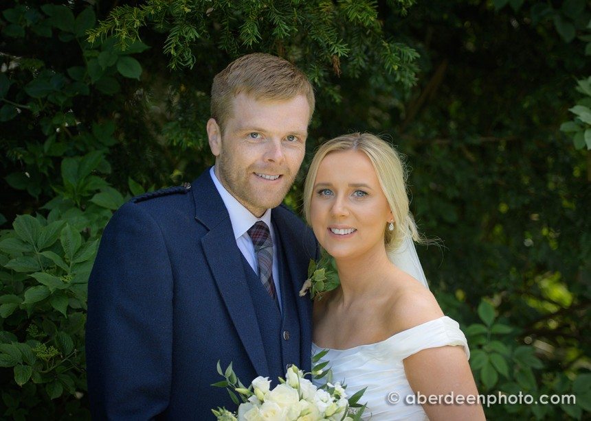 May 28th – Chelsea and Chris at Maryculter House Hotel