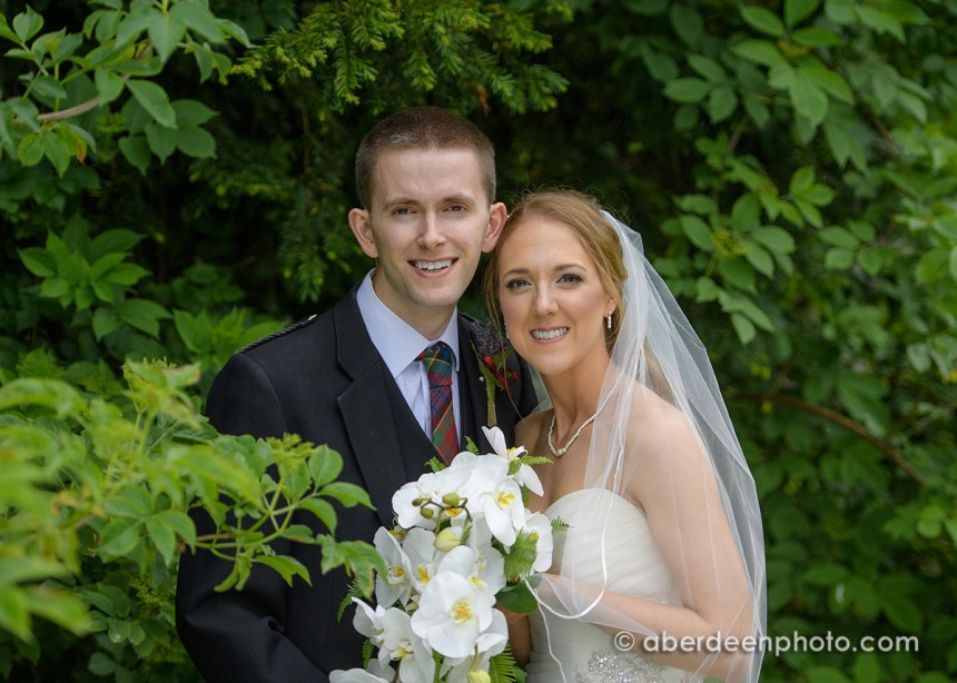 June 10th – Lindsay and Allan at Maryculter House Hotel