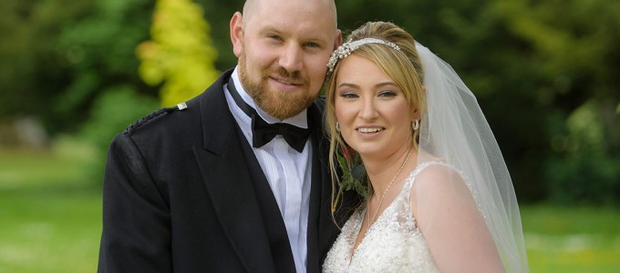 June 24th – Aimee and Ryan at Pittodrie House Hotel