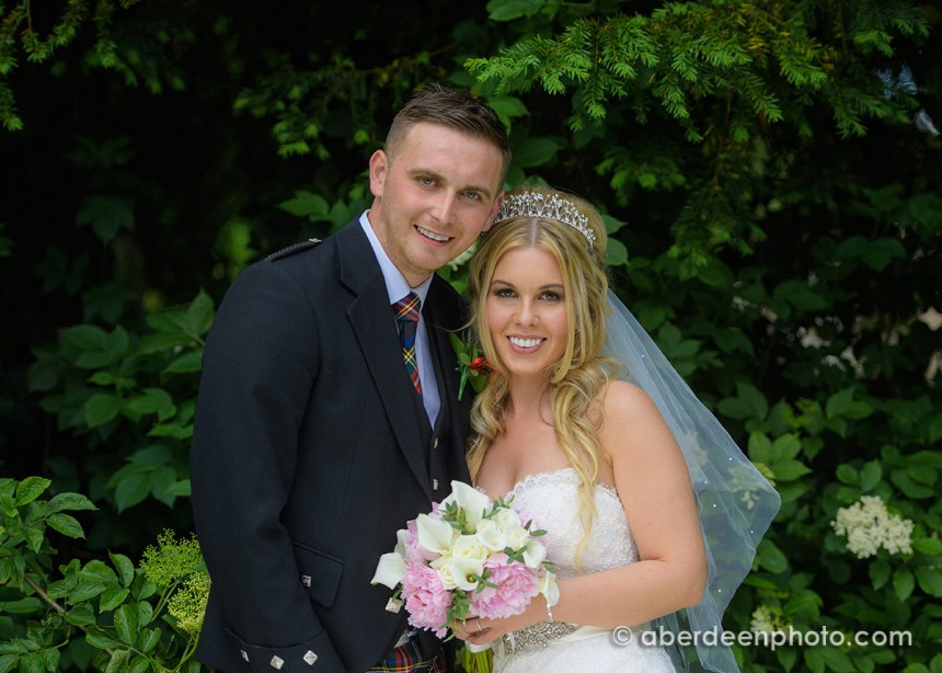 June 25th – Lauren and Aron at Cults Church and Maryculter House Hotel