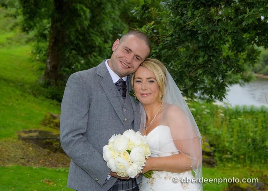 July 10th – Zoey and Ian at Maryculter House Hotel