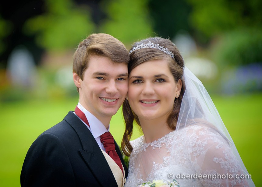 July 30th – Katie and David at Fasque House
