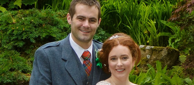 August 4th – Nicola and Peter at Marischal College