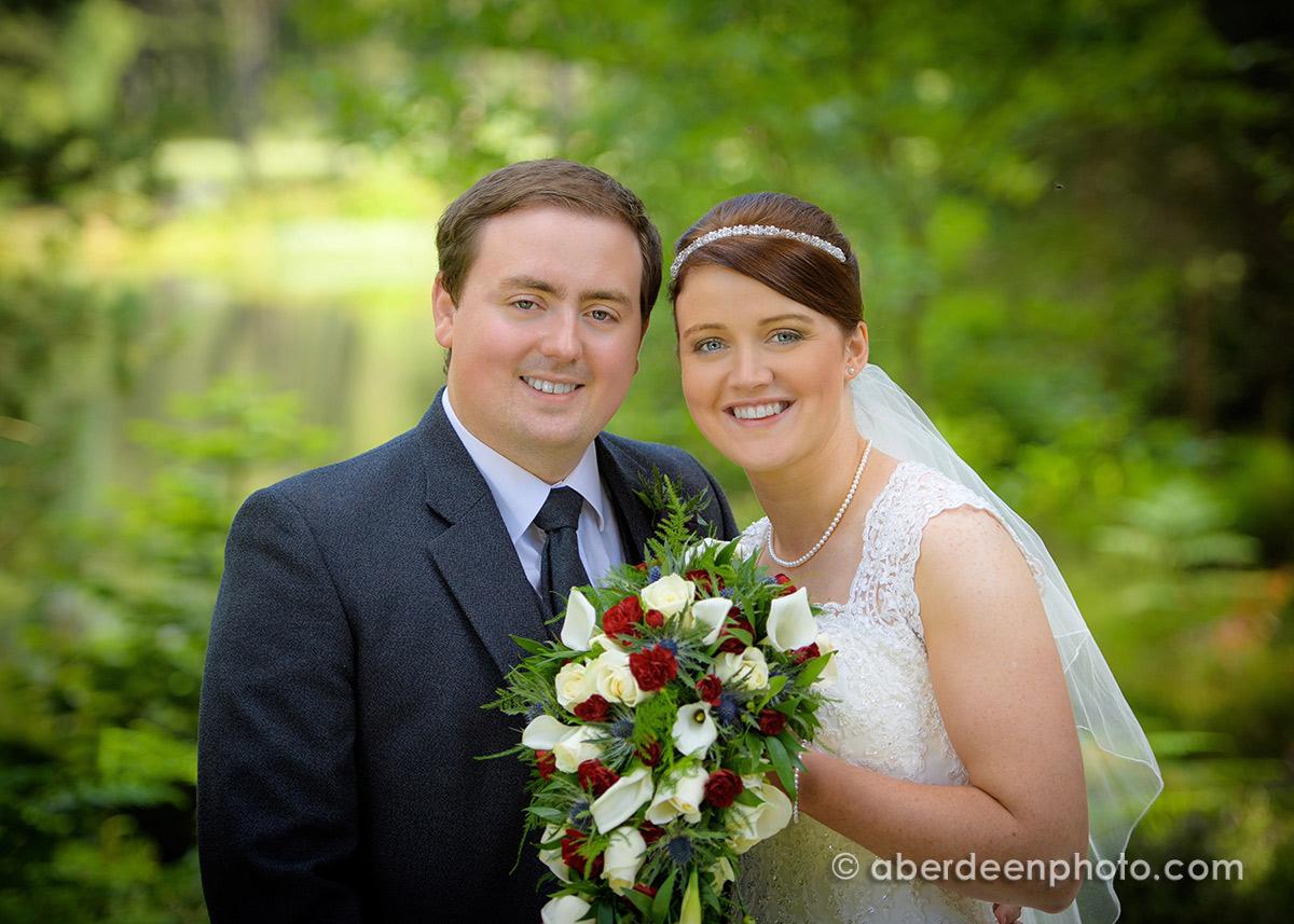 August 5th – Amanda and William at Glen Tanar