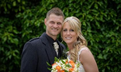 August 20th – Sarah and Mark at Ardoe House hotel