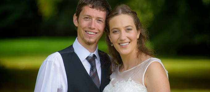 August 27th – Véronique and Douglas at Pittodrie House