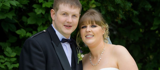 August 27th – Katie and Iain at Maryculter House Hotel