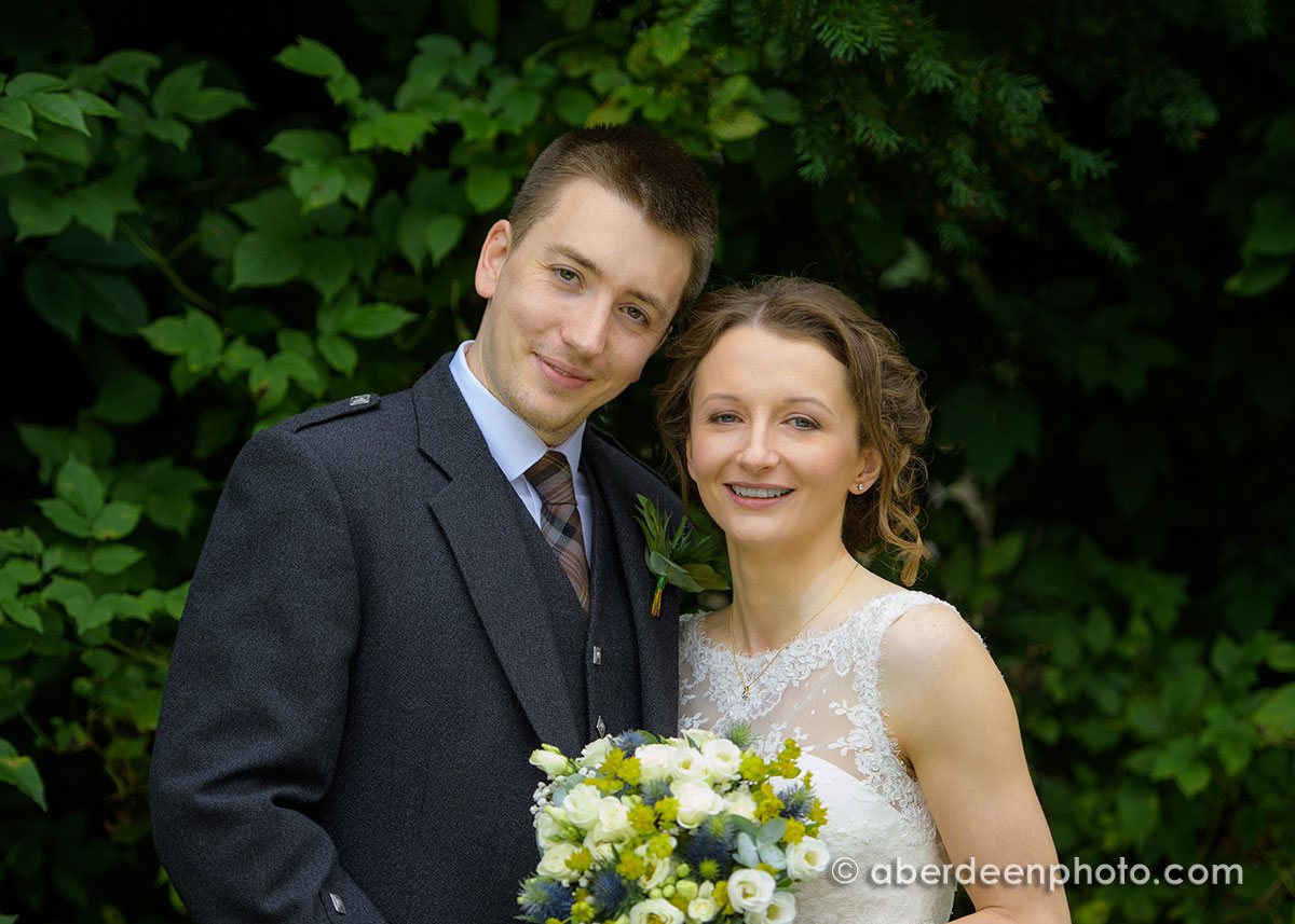 August 28th – Stacey and Ross at Maryculter House Hotel