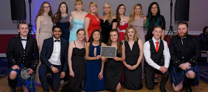2017, February 11th – RGU Forensic Society Ball