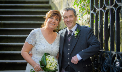April 1st – Kathryn and David at The Town House
