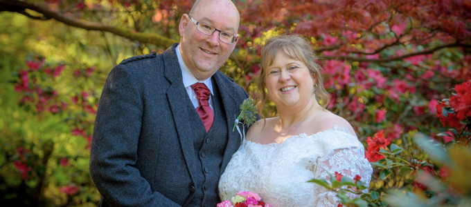 May 6th – Sarah and Steve at Marischall College and The Atholl Hotel
