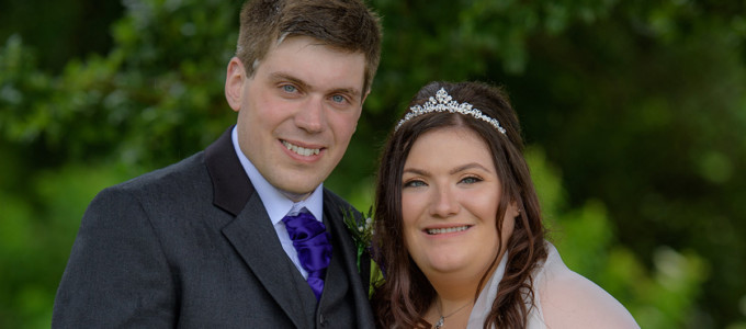 July 9th – Fiona and Darren at Maryculter House Hotel