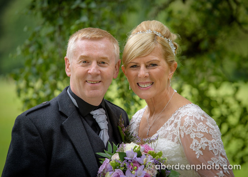 July 22nd – Julie and Dave at Fasque House