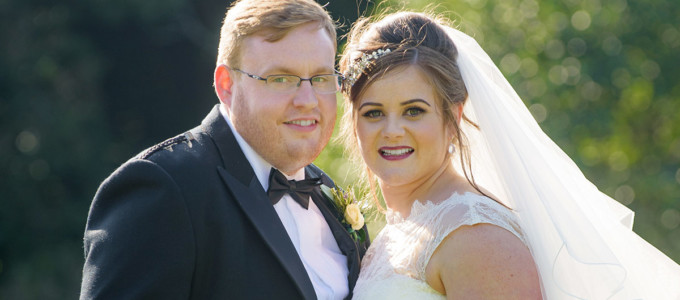 September 2nd – Kim and Andrew at Ardoe House Hotel