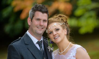 September 2nd – Louise and Jonathan at Raemoir House