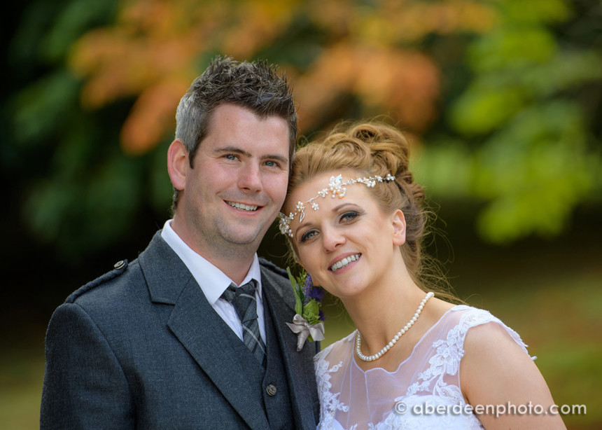 September 2nd – Louise and Jonathan at Raemoir House