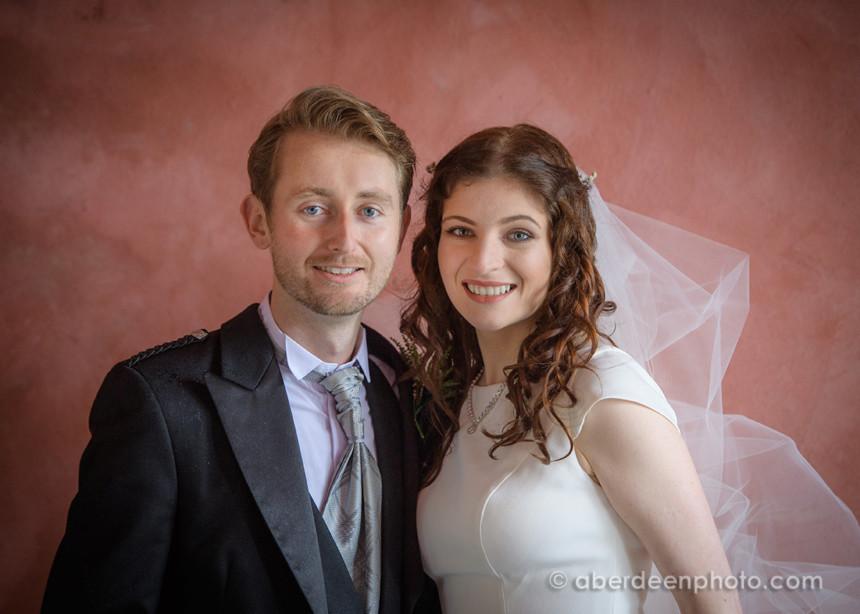 September 15th – Irina and Gary at Meldrum House