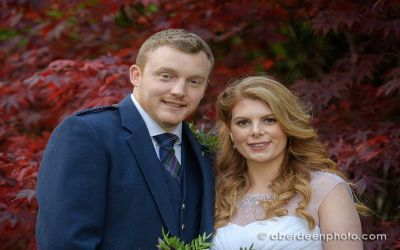 October 27th – Emily and Sean at Marischall College