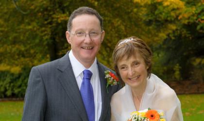 October 21st – Jackie and John at St. Stevens Church