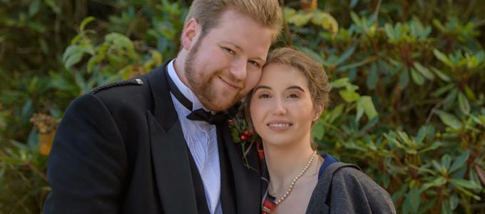 November 10th – Melissa and Callum at Meldrum House