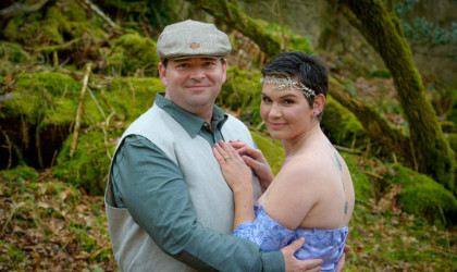 March 21st – Amy Jo and Joe at Drum Castle