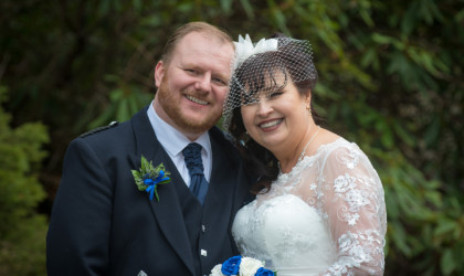 March 31st – Karen and Dougie at Palm Court Hotel
