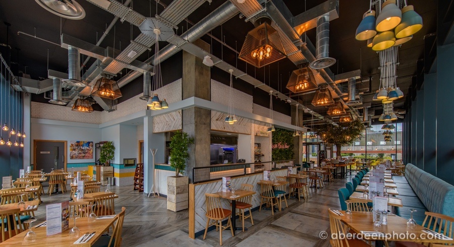 Photography for Prezzo at Marischal Square