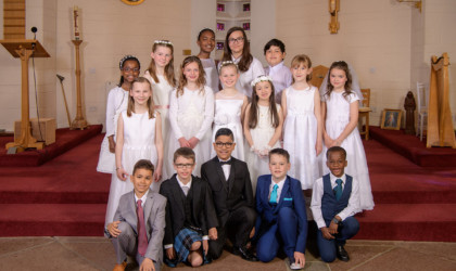 2018, May 19th – St Francis First Communion