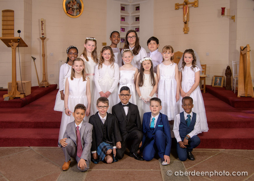 2018, May 19th – St Frances First Communion