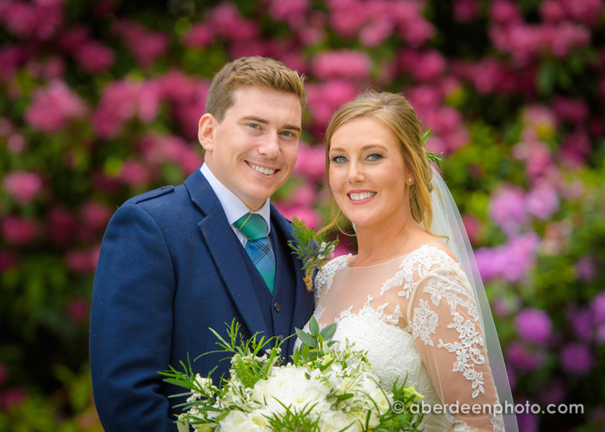 June 16th – Megan and Elliot at Ballathie House Hotel