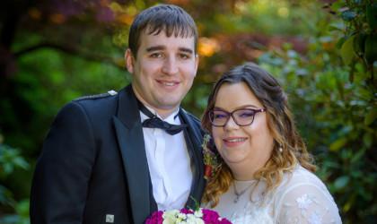 June 30th – Rebecca and Scott at Hilton Tree Tops