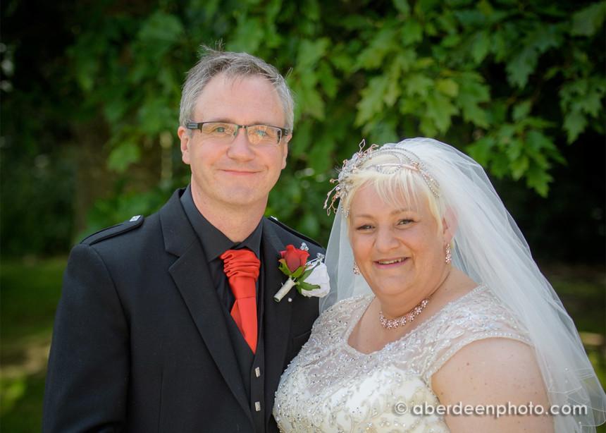 July 6th – Sara and David at Cluny Castle