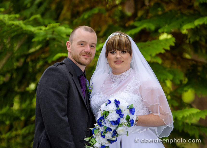 August 11th – Nikita and Grant at Banchory Lodge