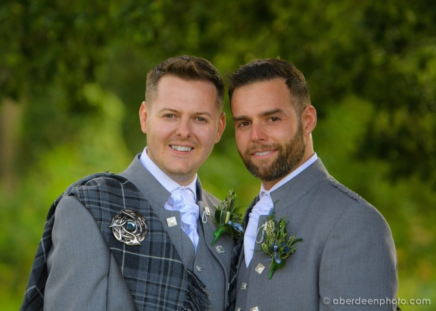 Scott and Craig at Maryculter House Hotel, 18th August 2018