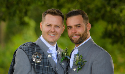 August 18th – Scott and Craig at Maryculter House Hotel