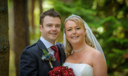 September 21st – Paula and Stephen at Banchory Lodge Hotel