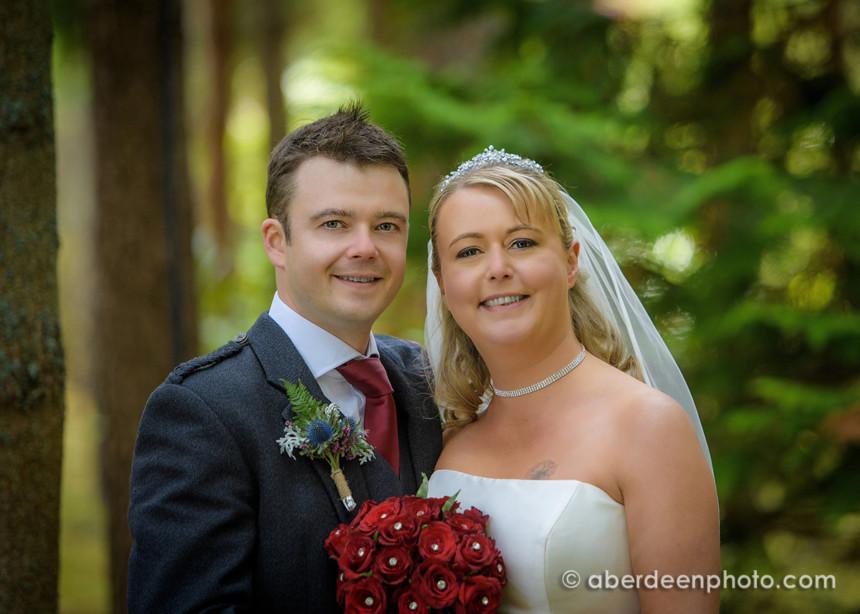 September 21st – Paula and Stephen at Banchory Lodge Hotel